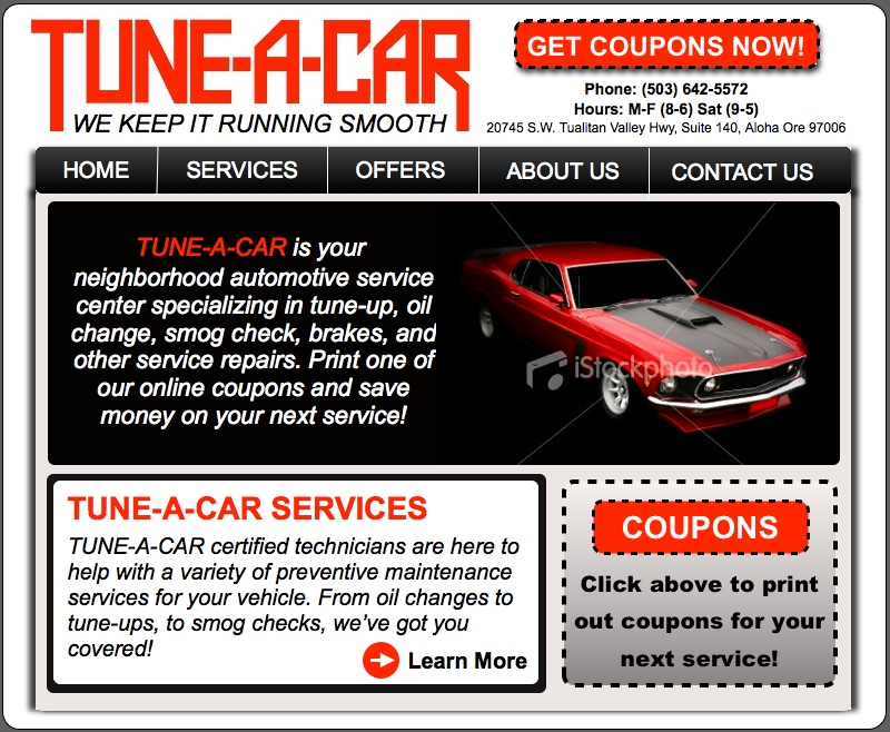 How do you save money on a car tune-up?